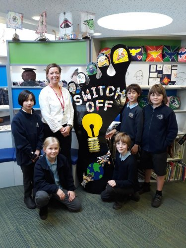 Local school supports 'Refresh Your Footprint'