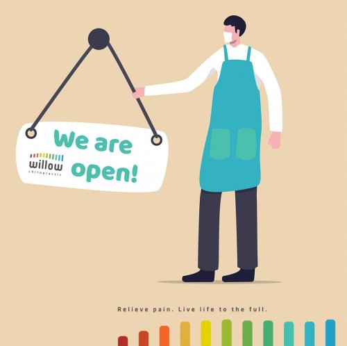 Willow Chiropractic are open